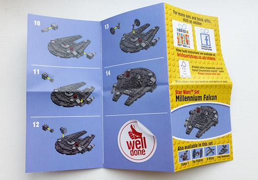 Star Wars Millennium Falcon Brick Party Bags